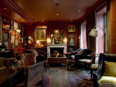 The lounge bar at The Zetter Townhouse