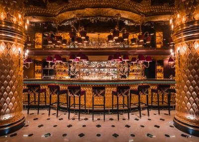 1930s Shanghai-inspired bar at Park Chinois