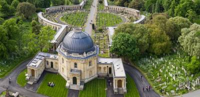 Brompton Cemetery is a tranquil oasis between Chelsea and Fulham