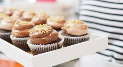 Freshly baked cupcakes every day at 1 Kingly Court in Soho