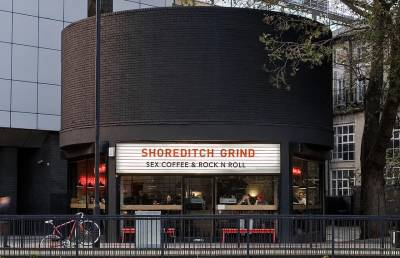 Sex, coffee & rock 'n' roll at Shoreditch Grind near Old Street station