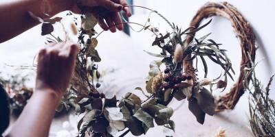 Modern Wreath Making Workshop by Free People