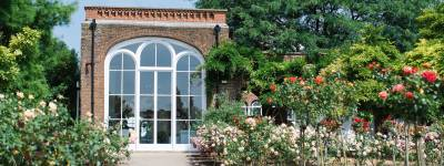 The Orangery in Holland Park is the perfect spot to find a bench and watch the people go by