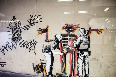 Explore London's world-class street art with an expert