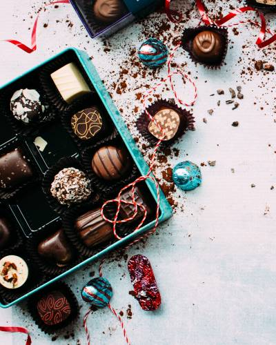 Delicious 'jewel box' chocolates and truffles from Prestat