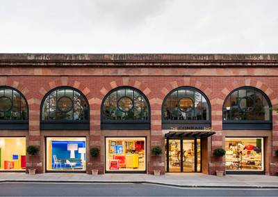 The stylish shopfront of The Conran Shop on Marylebone High Street
