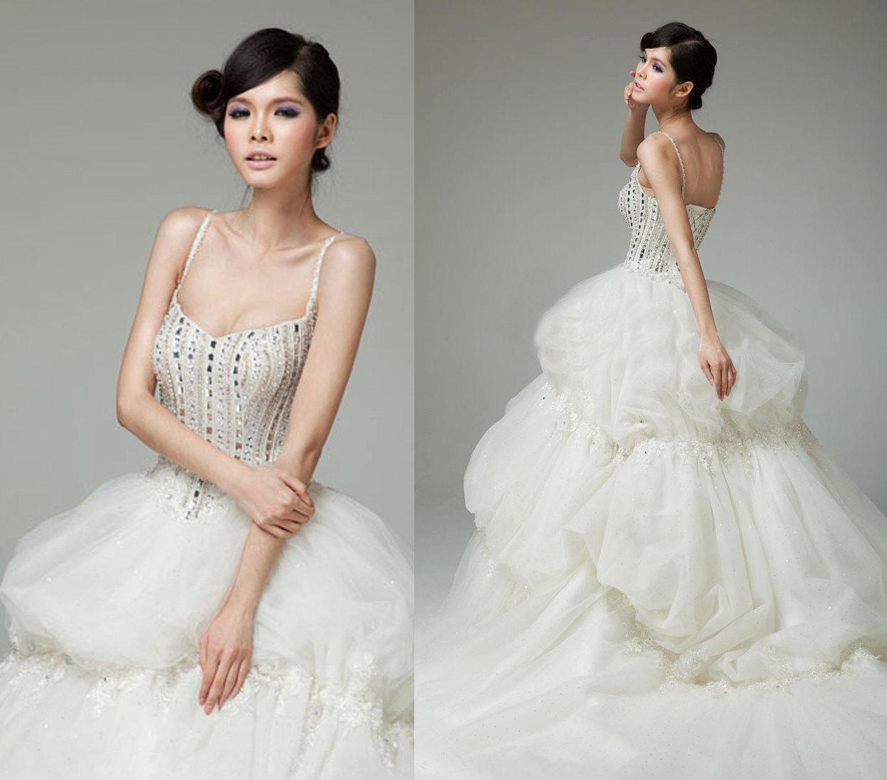 43 Creative Wedding Dress Designs