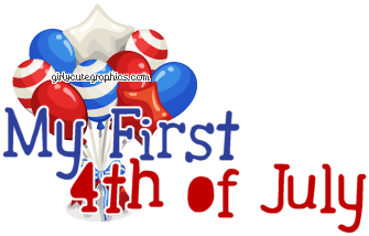 Fourth of July Page Graphics