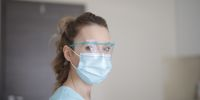 Banner Stof doneren voor mondmaskers