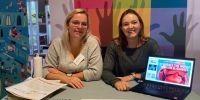 Banner Online info session Service Learning (in Dutch)
