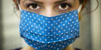Banner Rondbrengen van mondmaskers