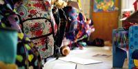 Banner Materiaal gezocht heropstart scholen Triangel