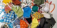 Banner Mondmaskers - ondersteun de naaiateliers