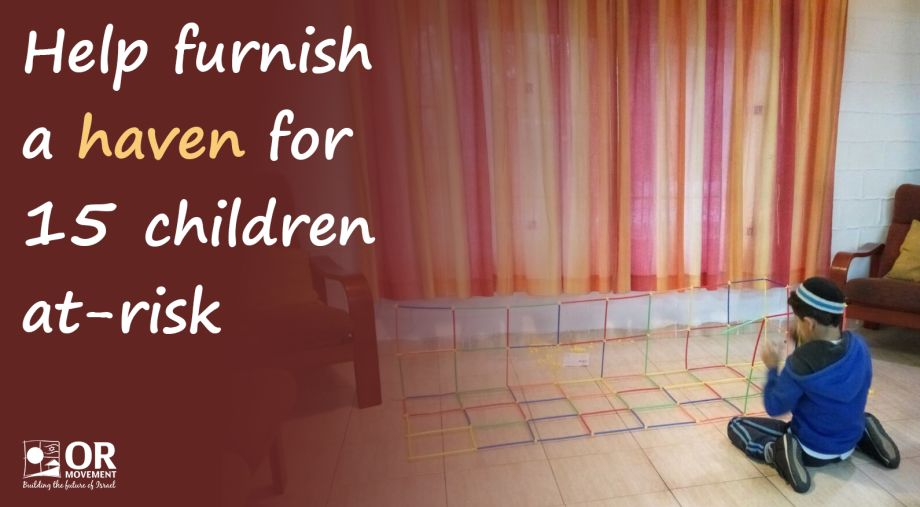 Help furnish a haven for 15 children at-risk