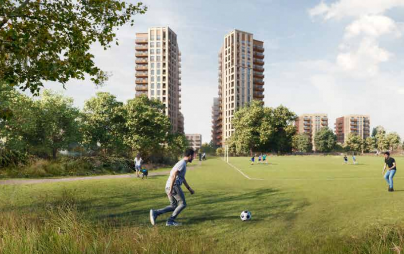 Hero for Hundreds of homes approved for gasworks site