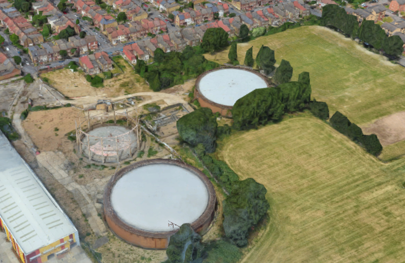Hero for Gasworks group aims to highlight pollution risk