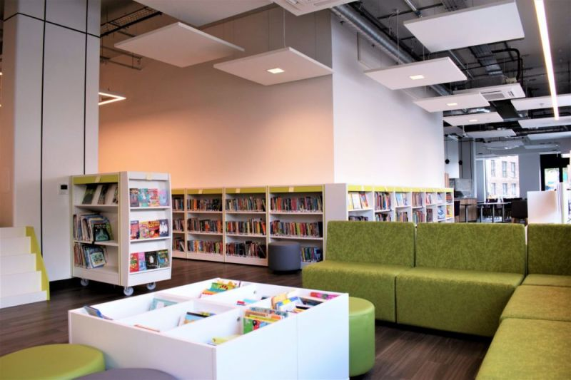 Hero for New Wood Street Library building opens