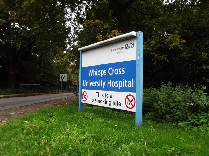 Hero for Whipps Cross 'major incident' after flooding cuts power