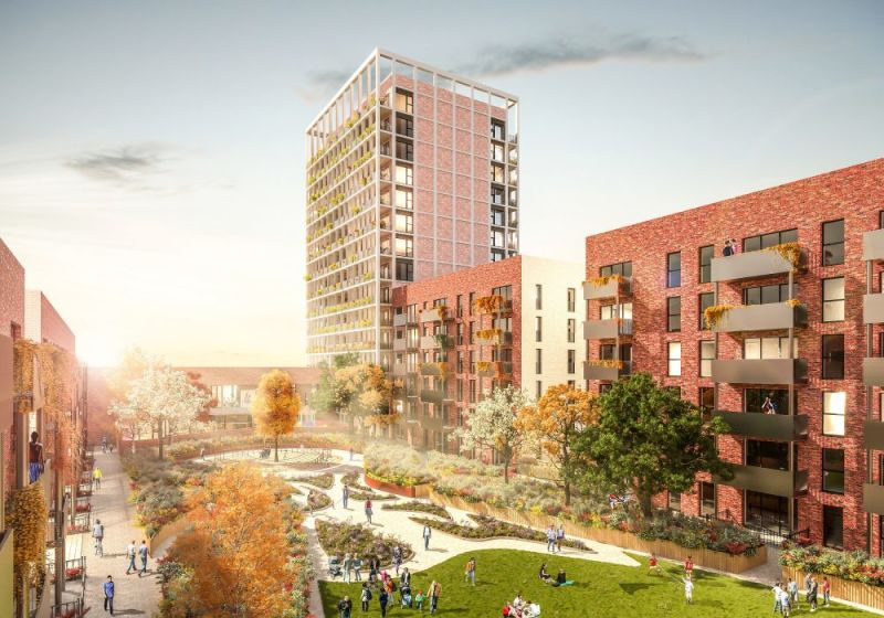 Hero for Huge redevelopment plans for Leyton