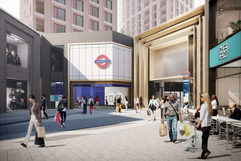 Hero for New tube station entrance planned at The Mall
