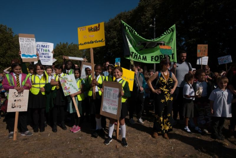 Hero for School strikers demand action on climate
