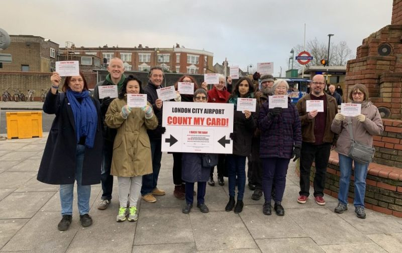 Hero for Campaign against airport expansion