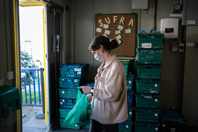 Hero for More than 150 emergency food parcels per week given to Barnet children during pandemic