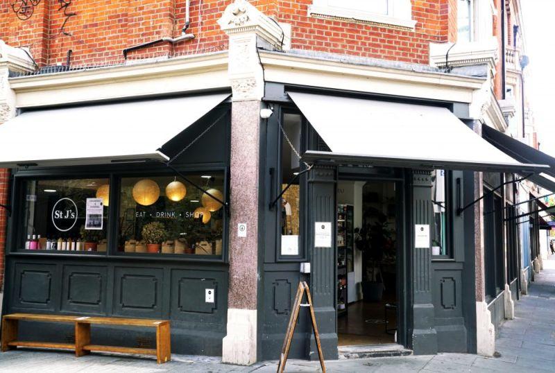 Hero for Discover St J's Deli, an eco-conscious, artisan café in St James Street