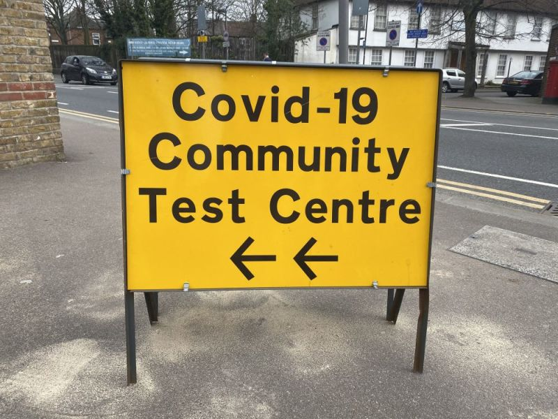 Hero for Where can you get a Covid-19 test in Waltham Forest?
