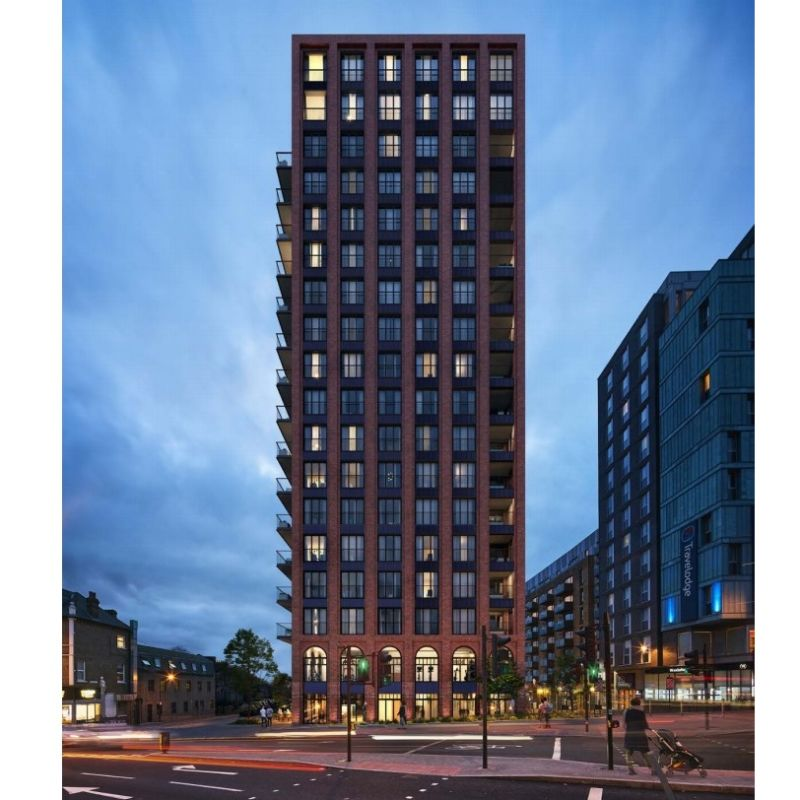 Hero for New Walthamstow tower block proposed