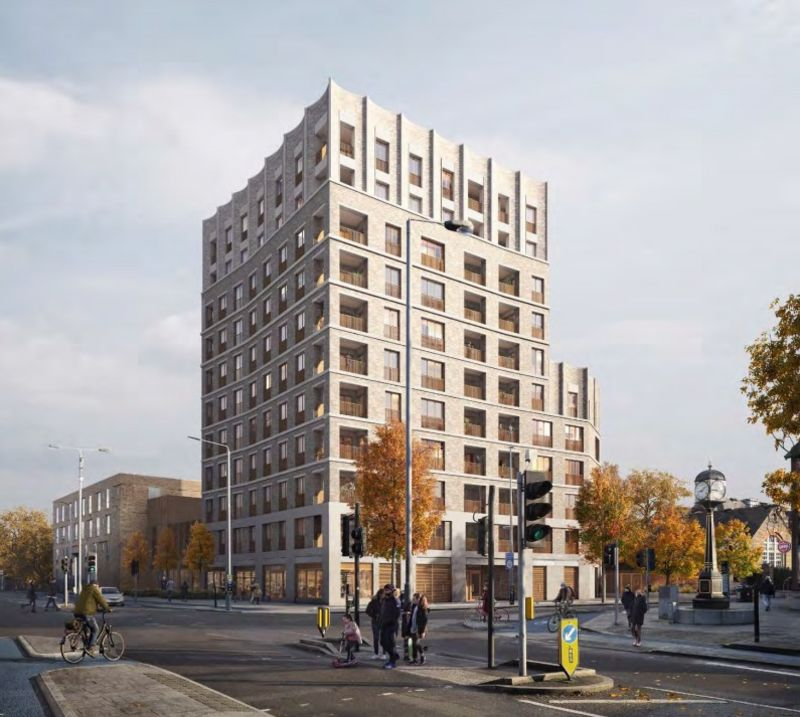 Hero for New homes get go-ahead on former library site