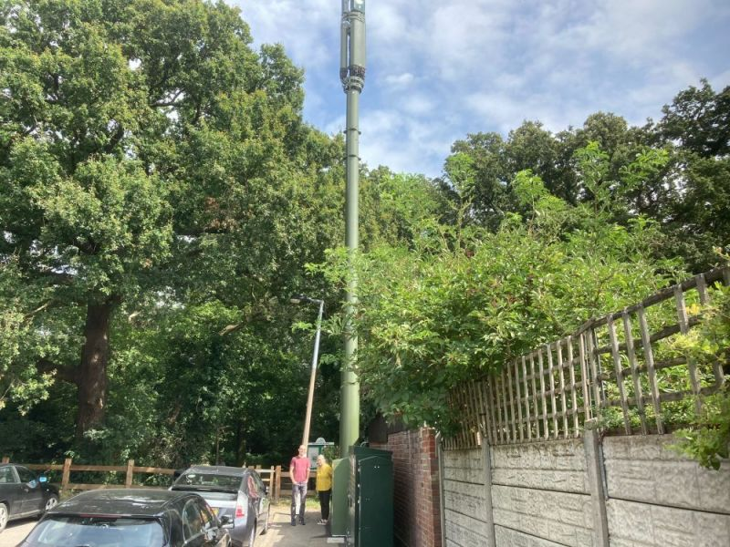Hero for Residents miffed by mobile mast mix up