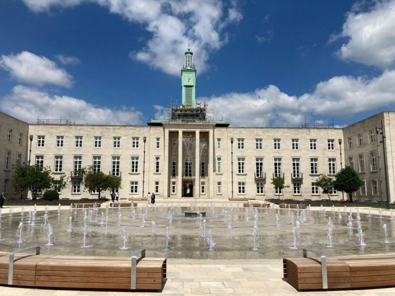 Hero for Councillors return to revamped town hall