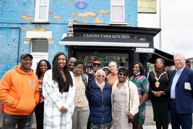 Hero for Dawn's blue plaque