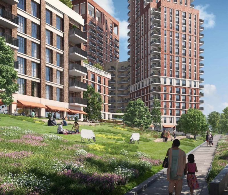 Hero for High-rise Cricklewood plan gets go-ahead despite local anger