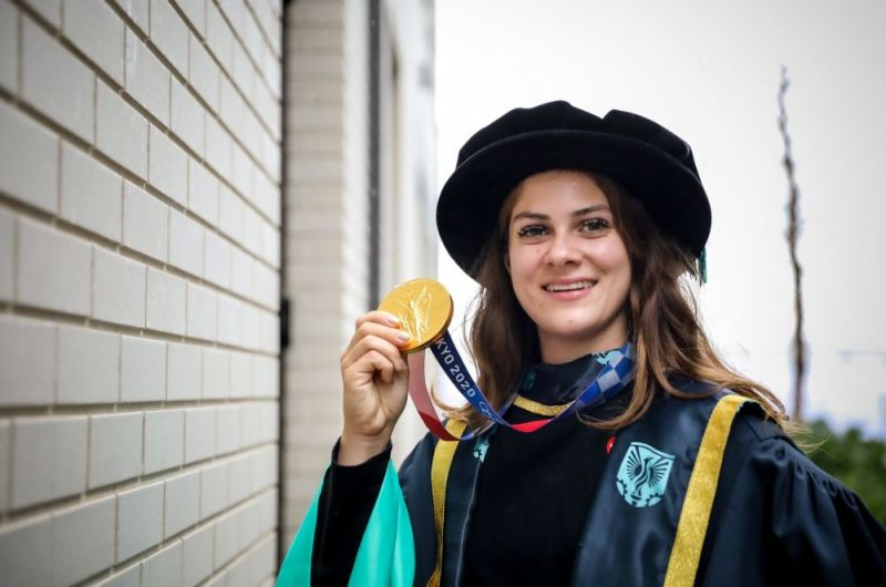 Hero for Leytonstone's Olympic gold medallist given honorary doctorate