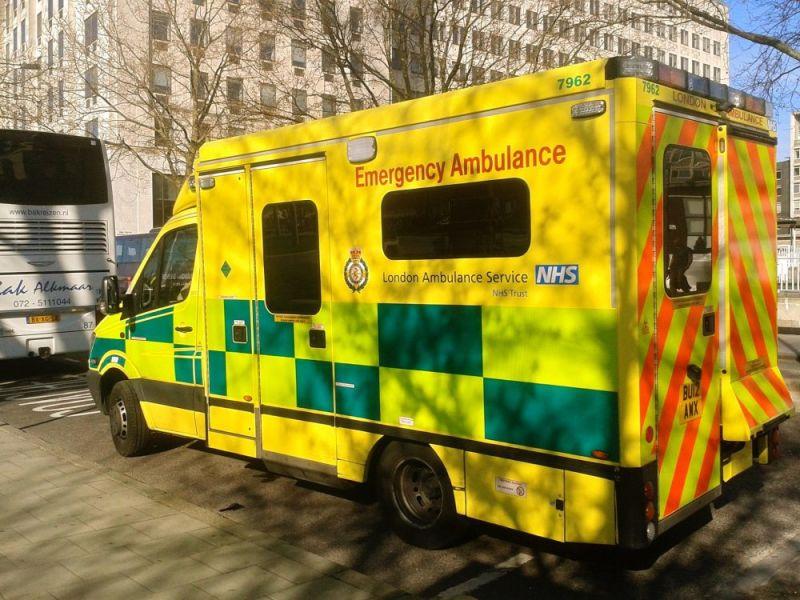 Hero for Bike courier with fatal head injury taken away from hospital on van floor