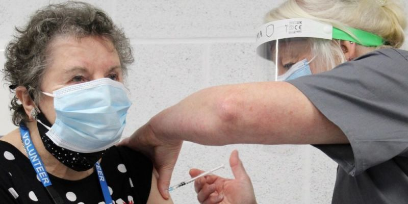 Hero for Nine out of ten seriously ill Covid patients in north east London not fully vaccinated