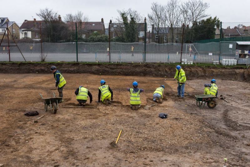 Hero for Ancient artefacts unearthed at Walthamstow school