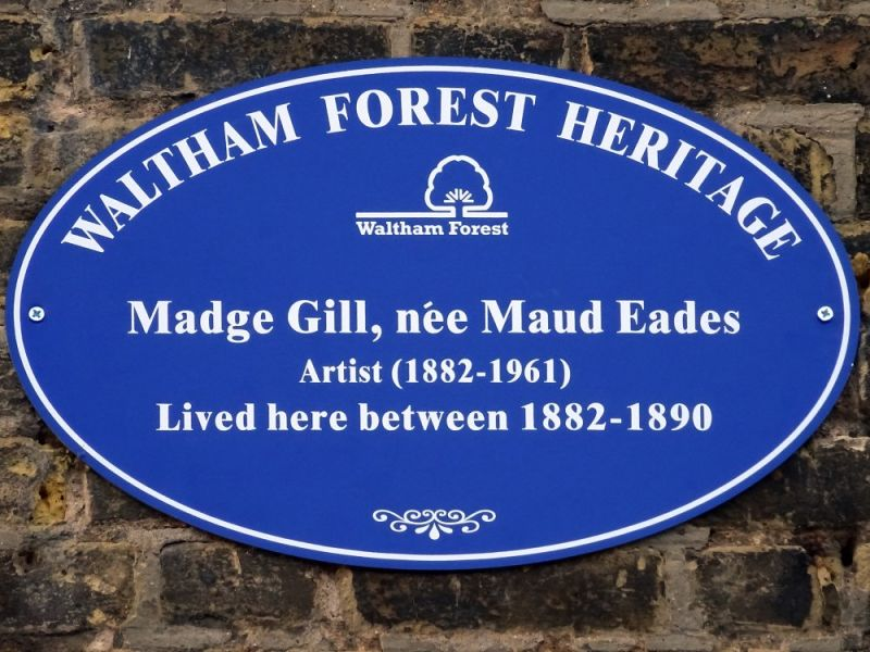Hero for The life of artist Madge Gill
