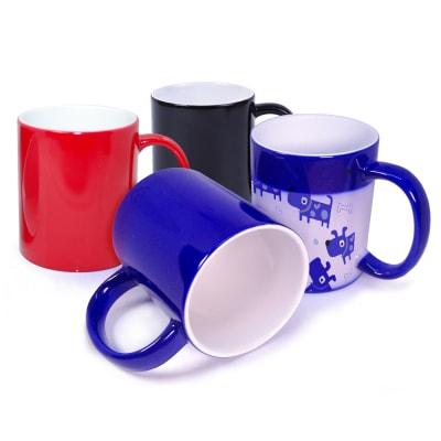 Ceramic Mugs - Colour Change
