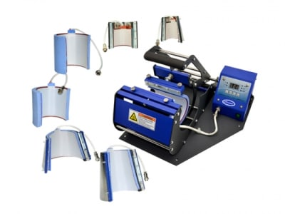 GJS EC400 Multi-Function Mug Heat Transfer Press