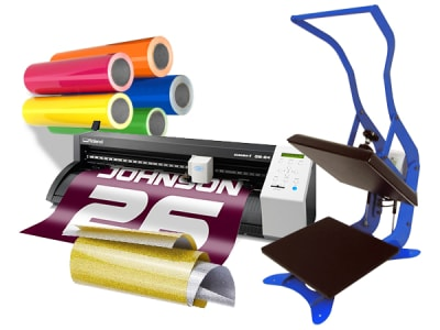 Heat Transfer Vinyl Starter Kits