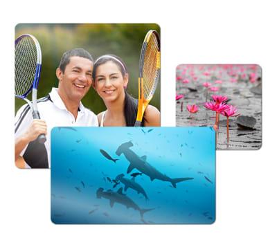 ChromaLuxe Metal Photo Panels -  White Gloss