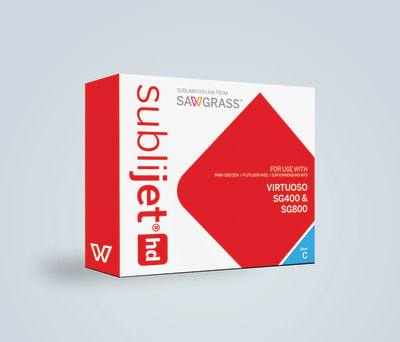 SubliJet-HD Dye Sublimation Ink Cartridges for SG400/SG800 Std Capacity