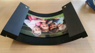 Cooling Jig for Curved Acrylic Prints