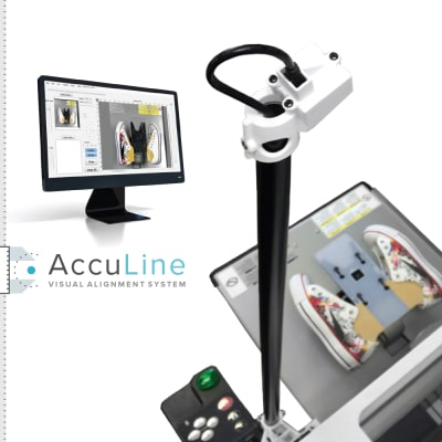 AccuLine Visual Alignment System for Brother DTG Printers