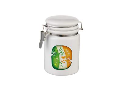 Ceramic Storage Jar with Bale Closure - 14oz