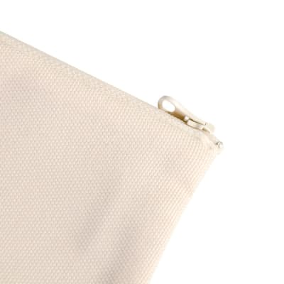 Zippered Bags/Pouches - Canvas Look