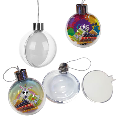 Ornament - Transparent Plastic